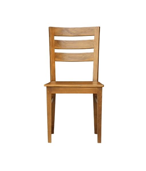 Solid teak wood dining chair