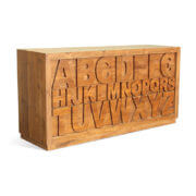 Alice ABC Teak Chest of Drawers (1)