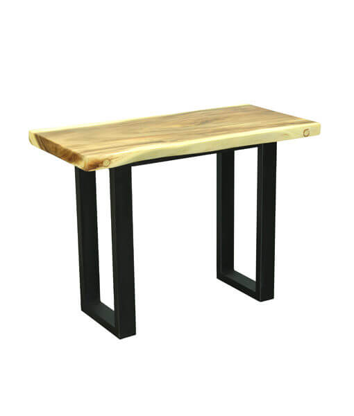 different size solid wood table