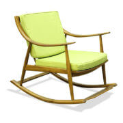 solid wood rocking relax chair