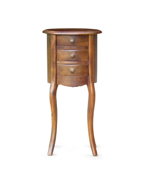 three drawer side table furniture sg