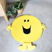 Bath Mat Mr Happy Yellow