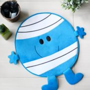 Bath mat Mr Bump Blue