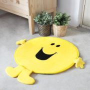 Bath rug Mr Happy Yellow