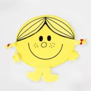 Little Miss Sunshine Bath mat Yellow