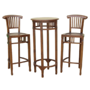 bar table and bar chair set
