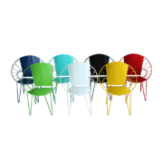 Sahana Industrial Chair for garden