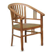 Rohann Teak arm chair for living room
